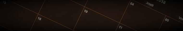 Nouveau calendrier : MushRaider !